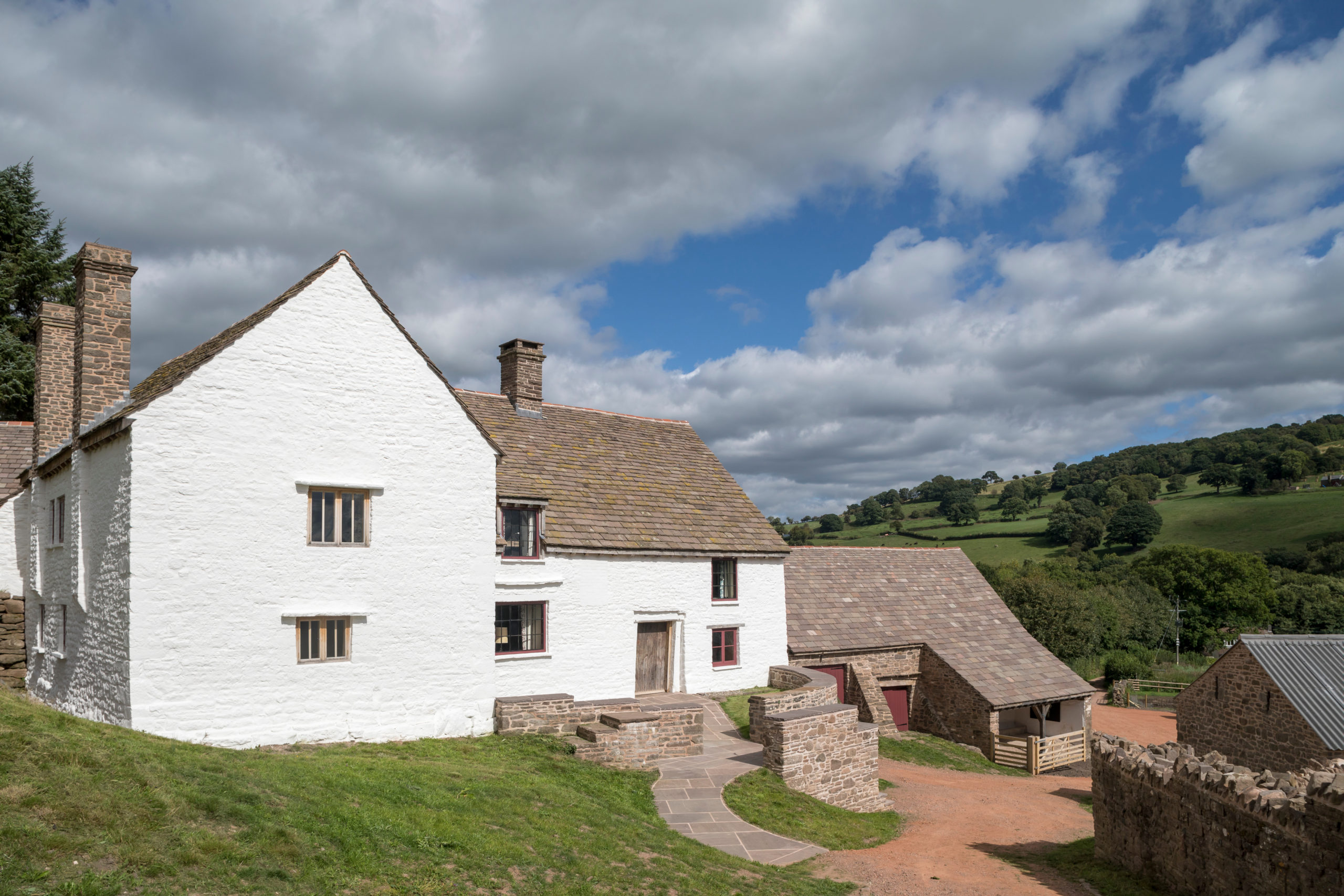 Completed heritage project at Llwyn Celyn, Abergavenny