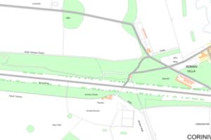 Cirencester Park map