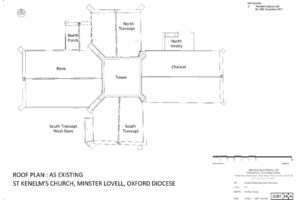 St Kenelm's Church - Roof Plan
